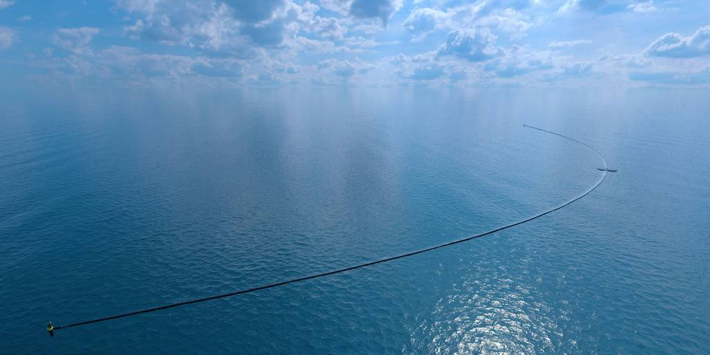 Le projet de nettoyage de l'océan sera bientôt effectif