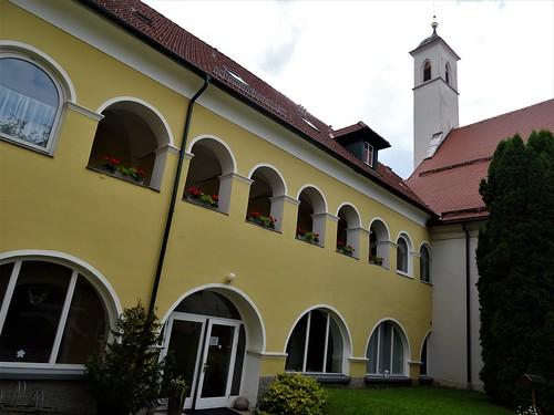 St. Veit an der Glan, Carinthia, state of Austria (Klosterkirche zu Unserer Lieben Frau), chiesa di convento, iglesia de convento, l'église de couvent, the convent church), Bürgergasse