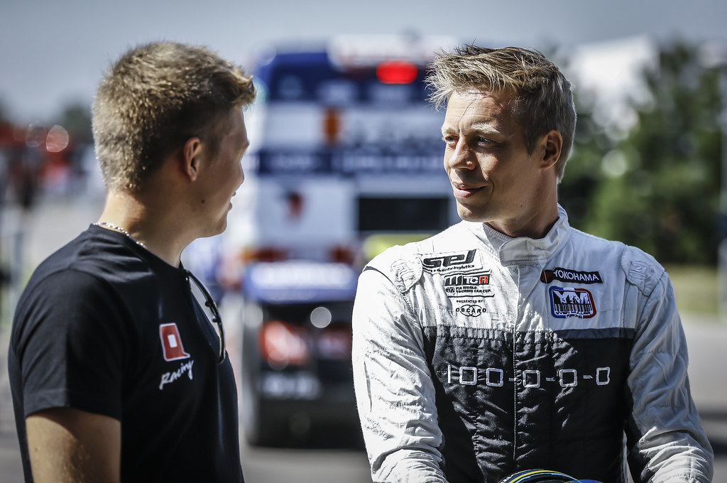 BJORK Thed, (swe), Hyundai i30 N TCR team Yvan Muller Racing, portrait during the 2018 FIA WTCR World Touring Car cup race of Slovakia at Slovakia Ring, from july 13 to 15 - Photo Jean Michel Le Meur / DPPI