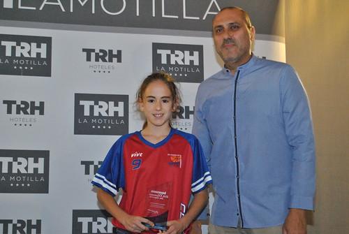XV Gala del Deporte de la Semana Claudia Jiménez y Carmen Calbuig