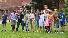 Fourth-Graders On The Last Day Of School