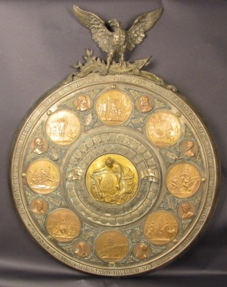 Indiana State Museum Heeren Bros Columbia Shield