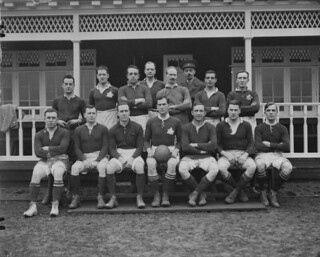 Canadian rugby football team, England / Équipe canadienne de rugby en Angleterre