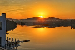 Esterel sunrise, Quebec, Canada. HSS!