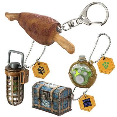 Monster Hunter Item Mascot Plus Collection from Capcom!