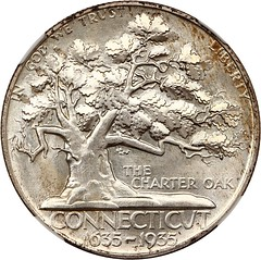 1935 Connecticut Half Dollar obverse