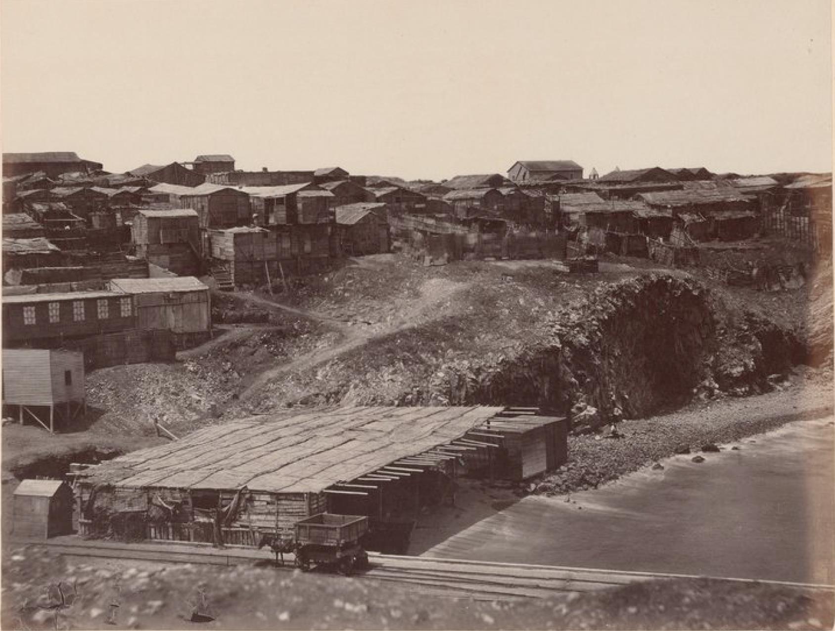 Острова Чинча. Северный Чинча, панорама города