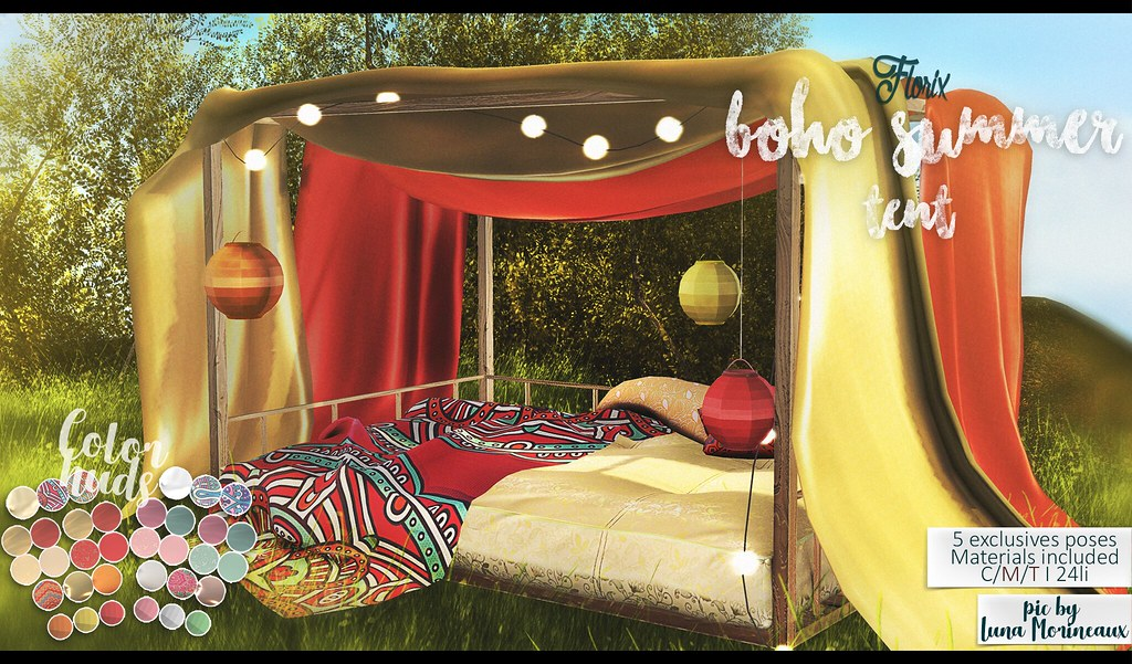 .Florx.  Boho Summer Tent @ The Season Story
