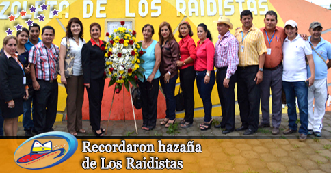 Recordaron hazaña de Los Raidistas