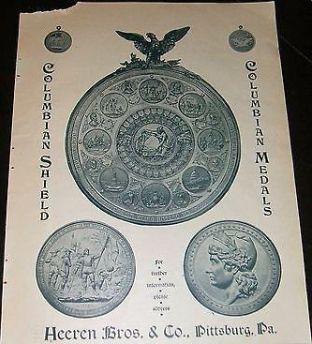 Heeren Brothers Columbian Shield Advertisement