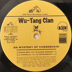 WU-TANG CLAN:C.R.E.A.M.(LABEL SIDE-B)