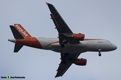 OE-LQV - 4125 - Easyjet - Airbus A319-111 - Luton M1 J10, Bedfordshire - 2018 - Steven Gray - IMG_6887