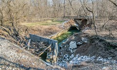 Before the deluge: Historic Culvert 82 in 2016