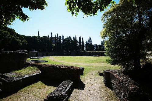 Arezzo: anfiteatro romano