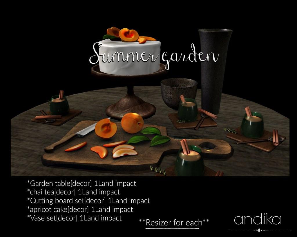 andika[Summer garden]cake set-AD