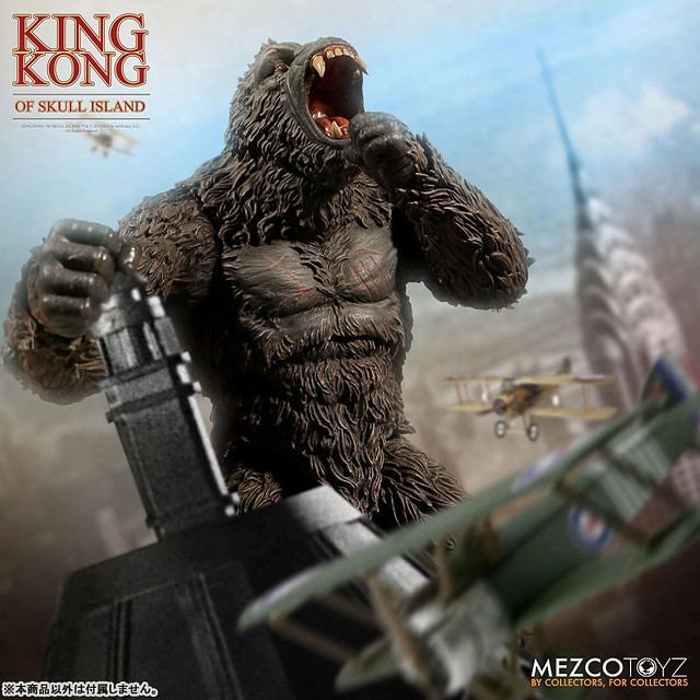 Mezco Toyz King Kong of Skull Island Roars into Action!