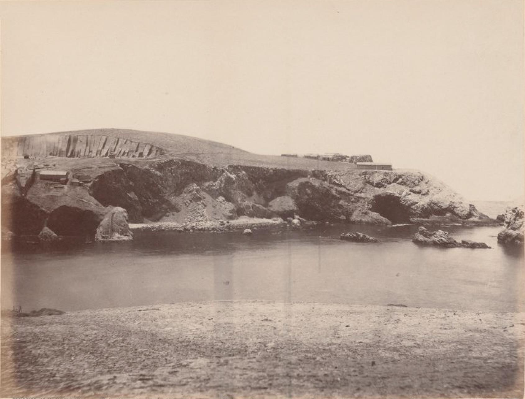 Острова Чинча. Панорама Южного Чинча