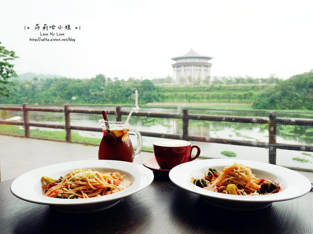 峨眉湖附近景觀餐廳推薦雪之湖咖啡下午茶義大利麵 (21)