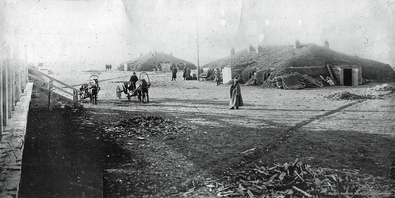 Железнодорожная мозаика Акмолинской области