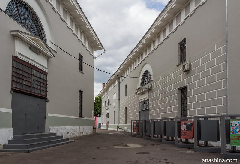 Корпуса Провиантских складов, Музей Москвы