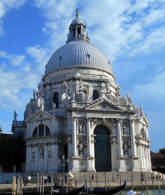 Santa Maria della Salute Church in Venice (1631-1687) - Architect Baldassare Longhena (Venice about 1597-Venice 1682)