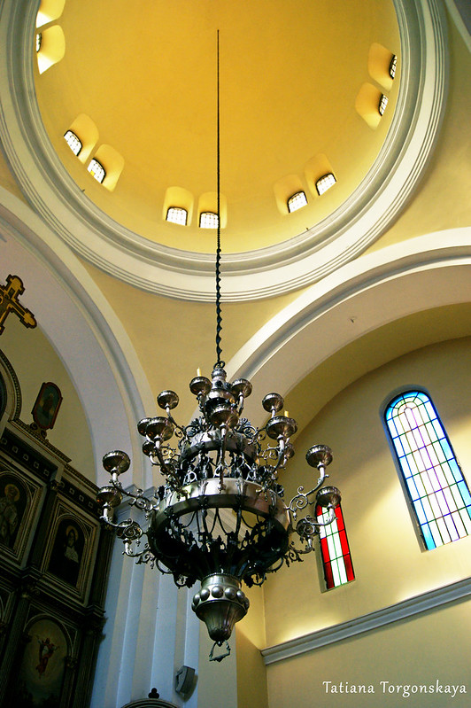 Под куполом церкви Св.Николая