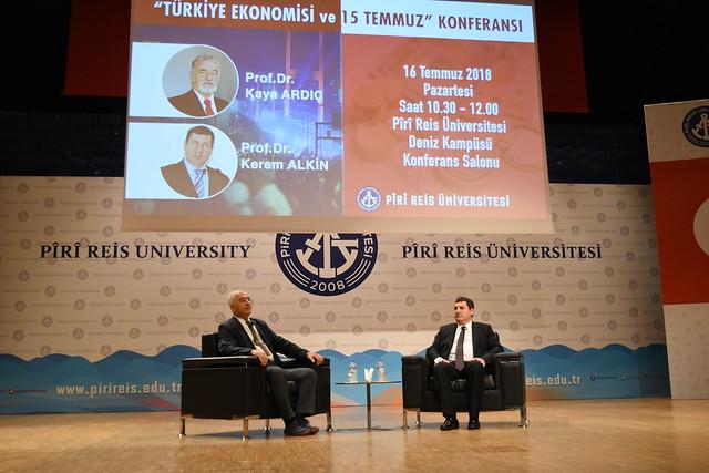 """""""Türkiye Ekonomisi ve 15 Temmuz"""" Konferansı"""