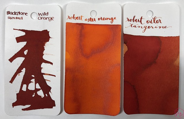Blackstone Wild Orange Ink Review @Appelboom 2