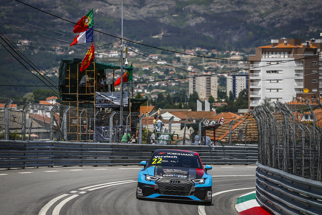 22 VERVISCH Frederic, (bel), Audi RS3 LMS TCR team Comtoyou Racing, action during the 2018 FIA WTCR World Touring Car cup of Portugal, Vila Real from june 22 to 24 - Photo Francois Flamand / DPPI