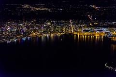 20180612 090 UA 733 SFO to SEA night Seattle