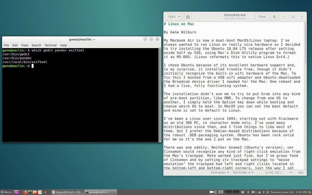 linux-on-mac