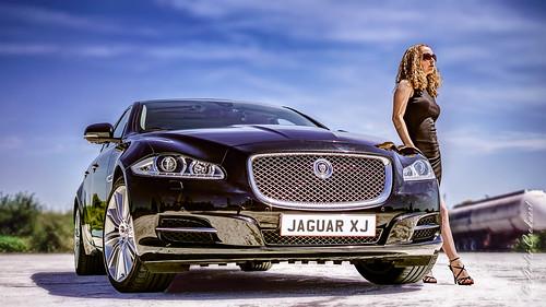 Car and model Kristina