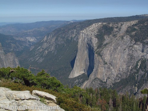 El Capitan. Views from Sentinel Dome are better in this direction in the morning. Yosemite National Park, California