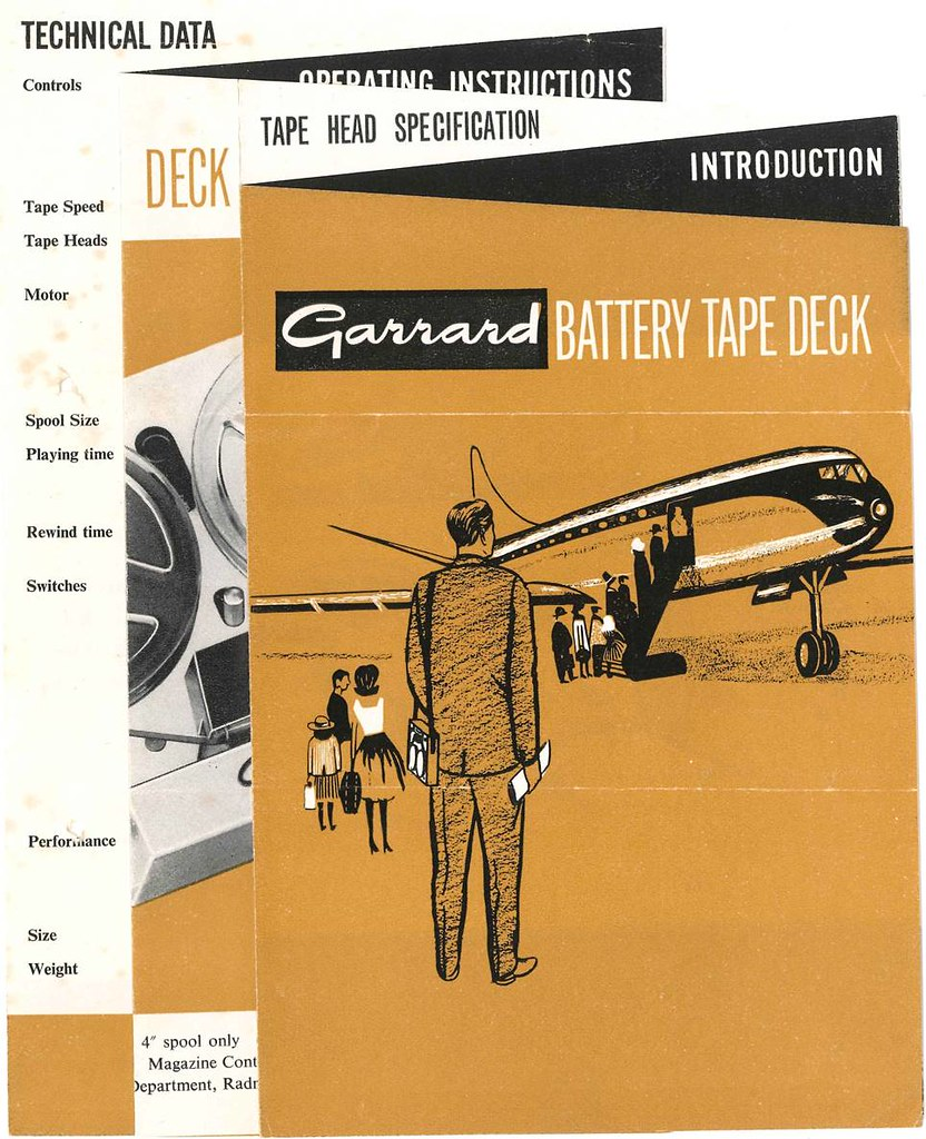 Garrard 401 service Manual