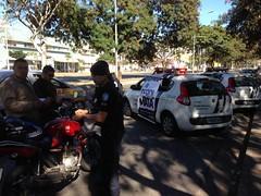 Guarda Municipal realiza blitz educativa Cerol Mata