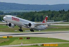 Swiss Boeing 777-3DE(ER) HB-JNI