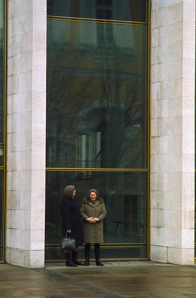 2 women | Congress Building Kremlin Moscow | March 1976