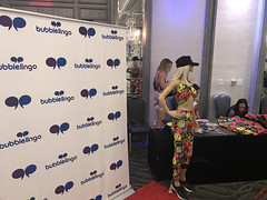 BubbleLingo at the 2018 Secret Room Gifting Suite for the MTV TV & Movie Awards - IMG_7611