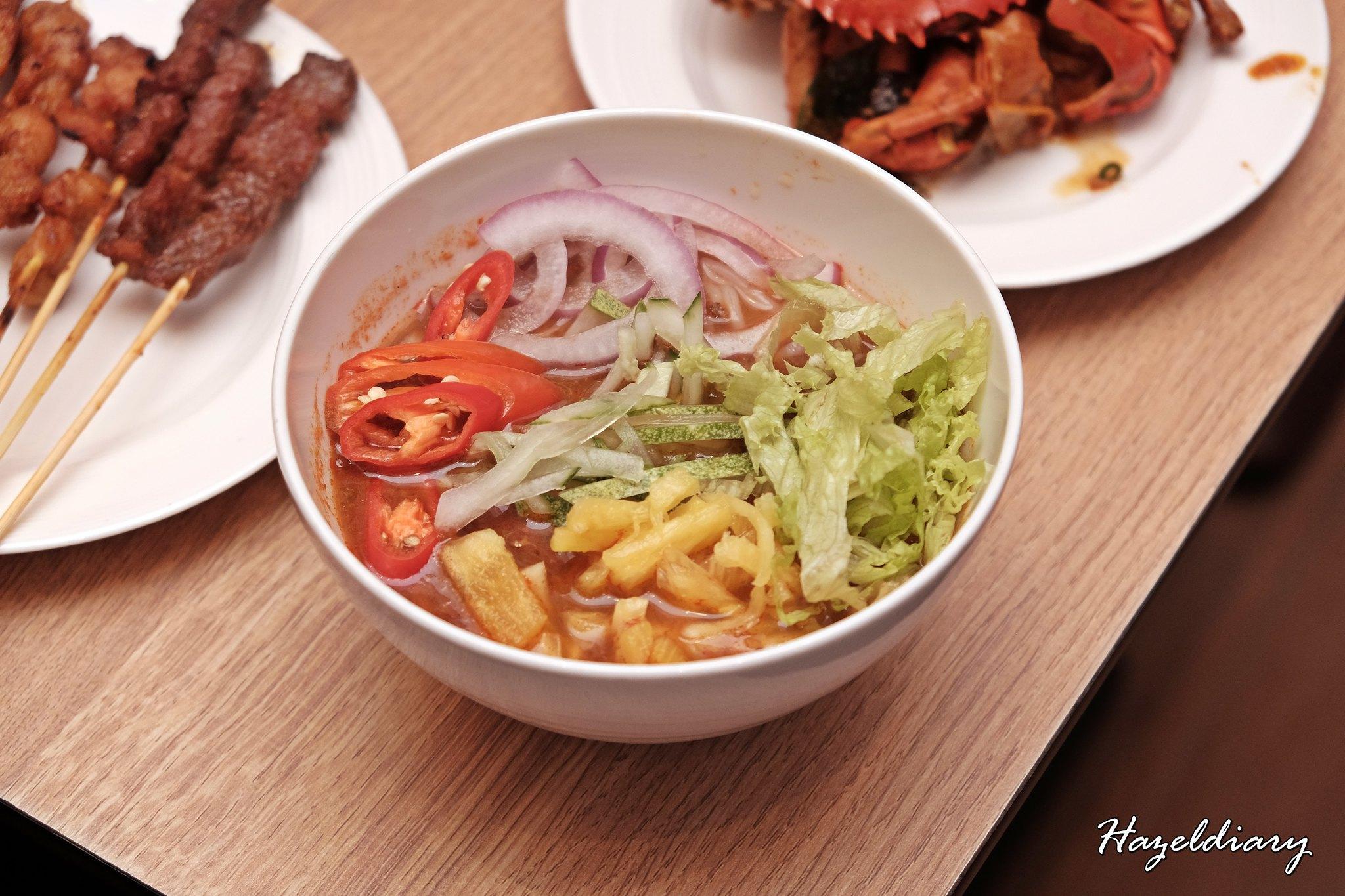 Penang Food Fare Buffet-Sky22 Courtyard Marriott-Asam Laksa