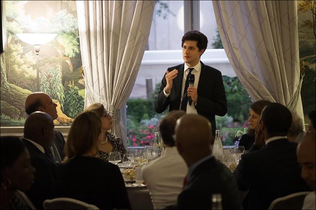 Club XXIe Siècle // Dîner débat autour de Julien Denormandie