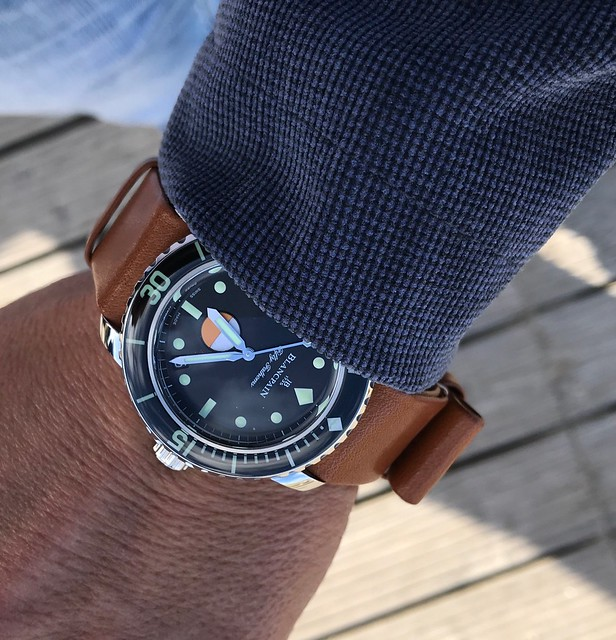 A very special event with Blancpain and Gianluca Genoni, Blancpain Fifty Fathoms Ocean Commitment III