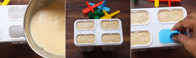 How to make banana peanut butter popsicle recipe - Step3