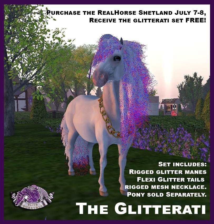 Receive the new Glitterati set for the RH Shetland FREE