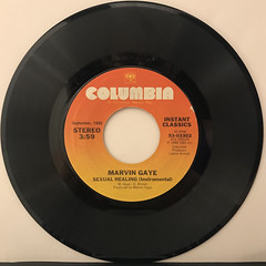 MARVIN GAYE:SEXUAL HEALING(RECORD SIDE-B)