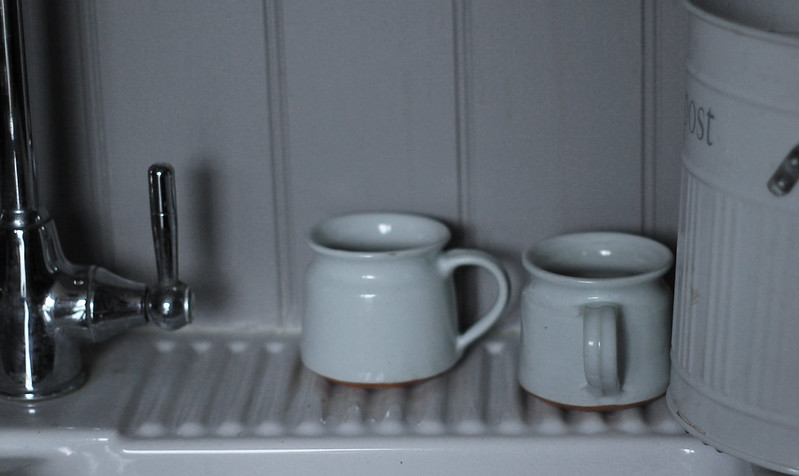 Mugs in the washing