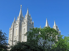 Salt Lake City Temple from the northeast