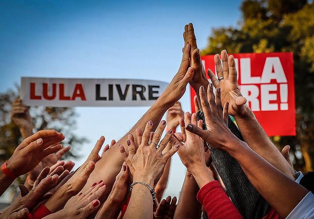 Ex presidente Lula sigue preso en la sede de la Policía Federal, en Curitiba, desde el día 7 de abril  - Créditos: Ricardo Stuckert