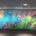 In Sight On Site: Murals - Dan Crosier - Photograph by Wes Magyar
