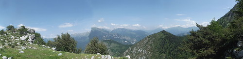 Panorama from Baisee d'Anan