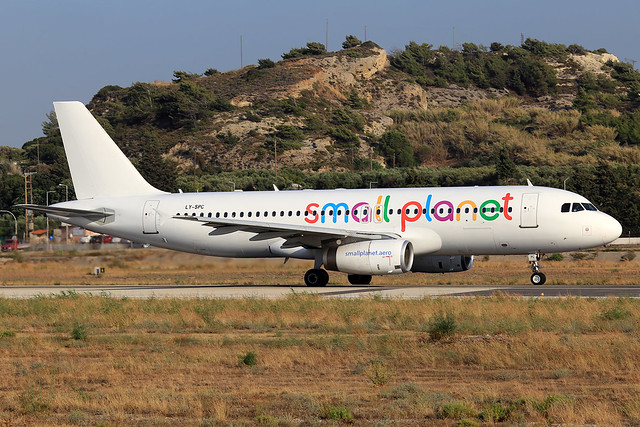 Small Planet Airlines  Airbus A320-231 LY-SPC